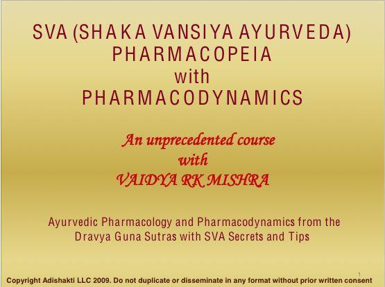 SVA Pharmacopeia Section 2