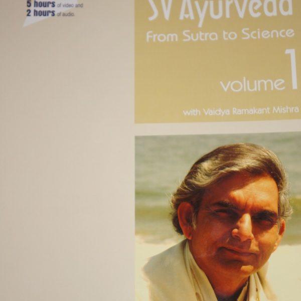 SVAyurveda Sutra to Science-Volume 1 2011-0