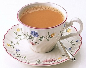 Warm up with a cup of tea!