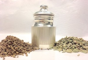 Make your own  Digestive SVA Spice-Mix, and  Mouth-Freshener  with  Fennel and Ajwain Seeds