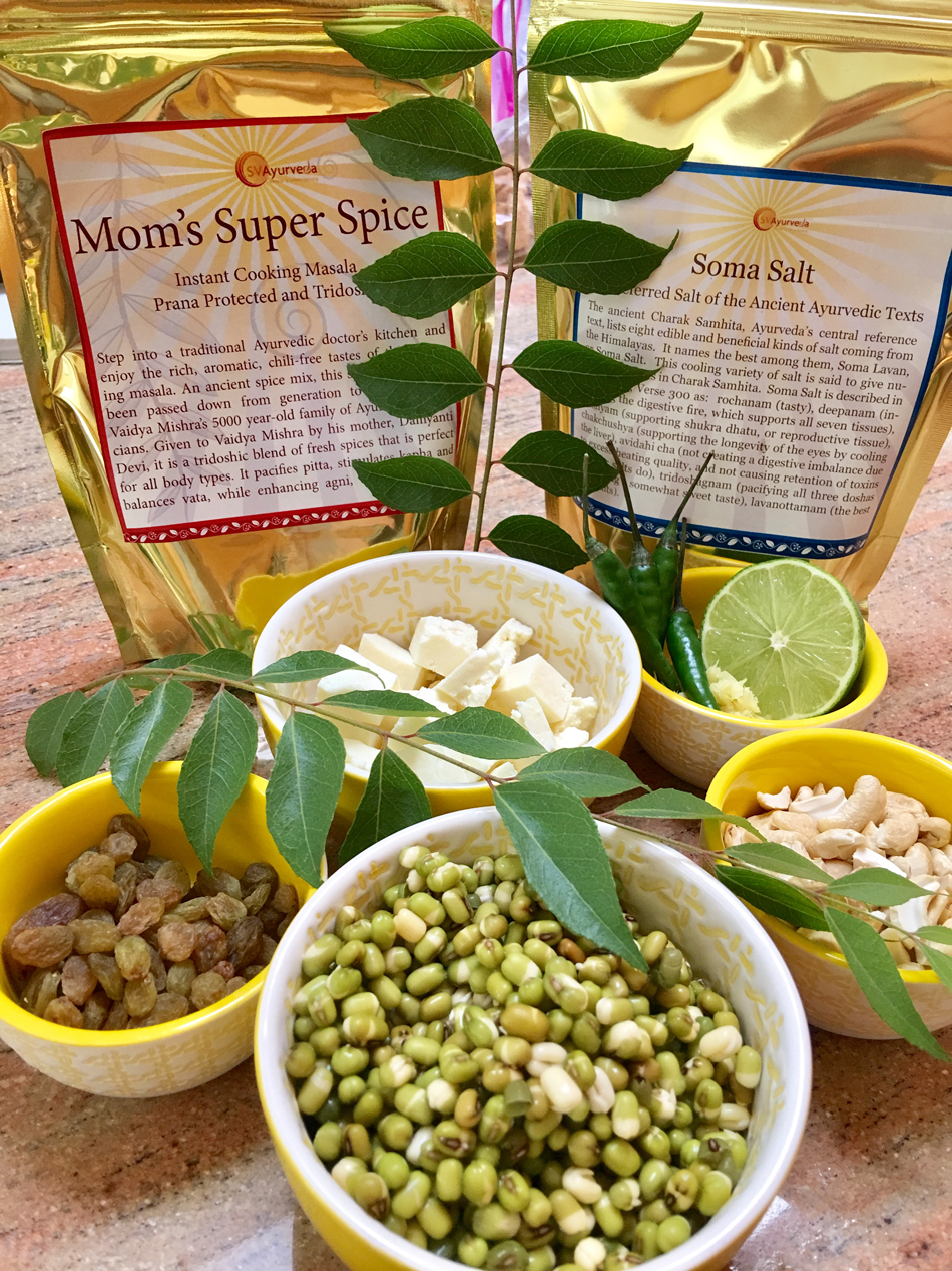Sprouted Mung Medley to Beat the Summer Heat! A Quick & Delicious Summer Protein SVA Recipe